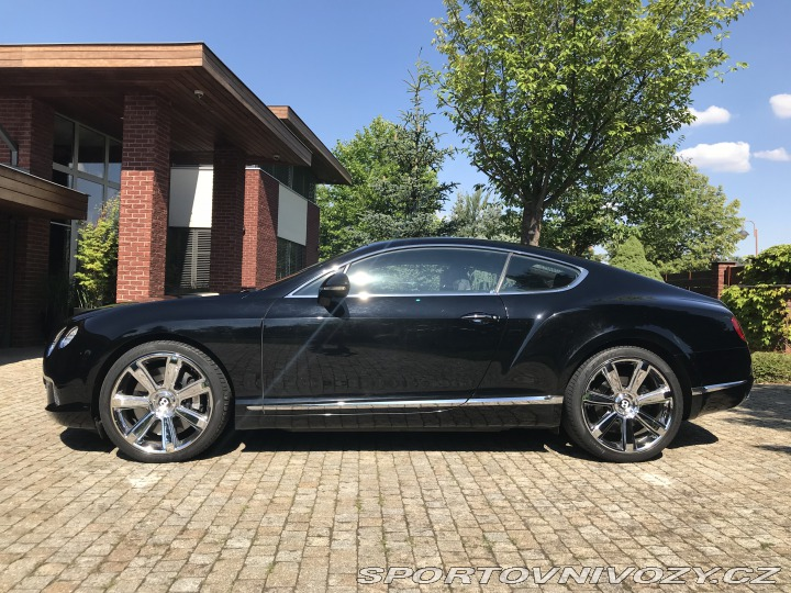Bentley Continental GT, 6.0 W12, ČR, 1. Maj