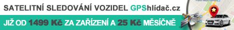 GPShlídač.cz - satelitní sledování vozidel