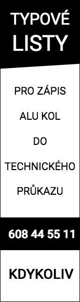 Typové listy pro zápis alu kol do TP | MZB.CZ